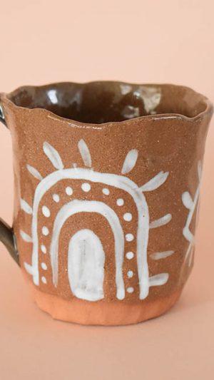 Mug Renacer Ocre