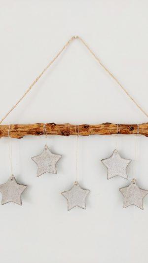 Amuleto Rustic Stars